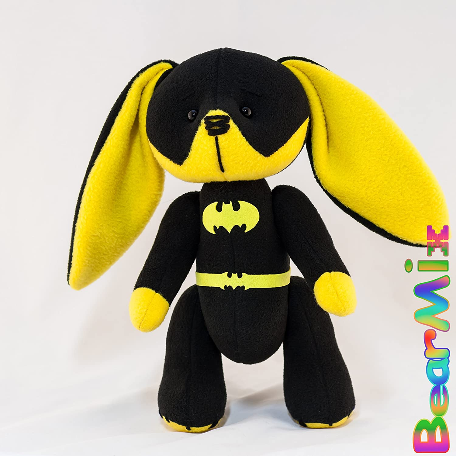 Batgirl bunny - dc superhero movie comic plush toy batman Barbara Gordon