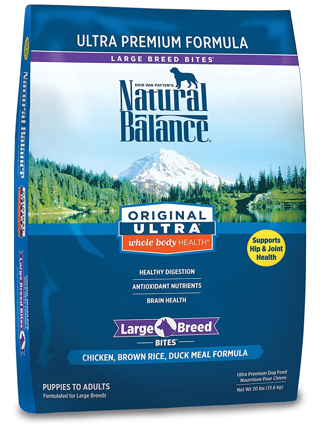 Natural Balance Original Ultra Whole Body Health Large Breed Recipe