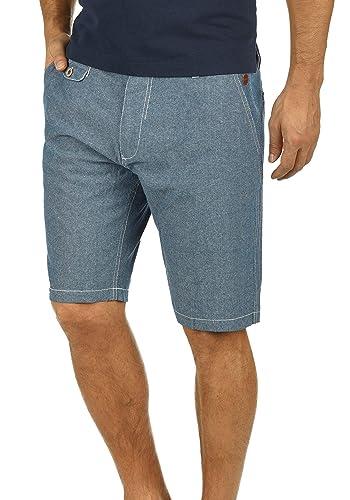 Blend Sergio Chino Pantalón Corto Bermuda Pantalones De Tela para Hombre De 100% Algodón Regular-Fit ukucQE