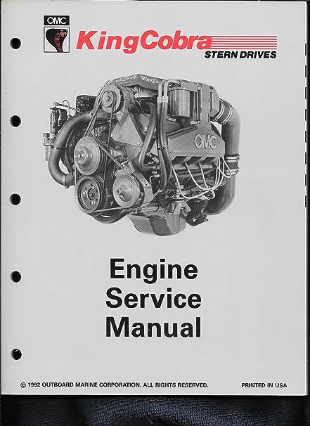 amazon com 1993 jv omc king cobra engine service manual 508291 rh amazon com omc king cobra service manual omc king cobra service manual