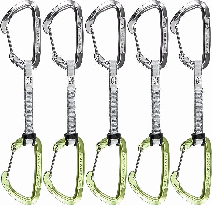 Climbing Technology Lime-W exprés Set, 22 cm, Gris/Verde ...