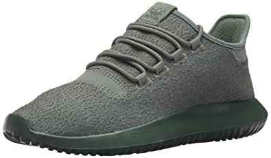 huge discount ed080 c9266 adidas Originals Mens Tubular Shadow Running Shoe, Trace GreenTactile  Yellow, 8 Medium
