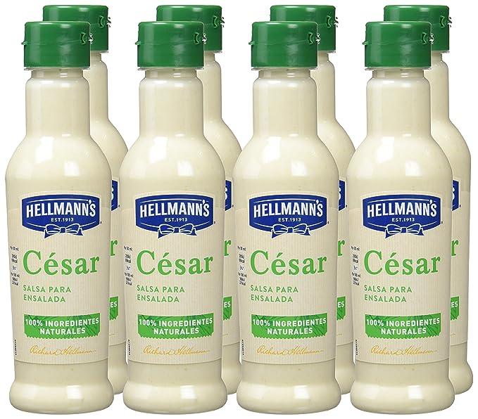 HellmannS Salsa para Ensaladas César - Paquete de 8 x 210 ml: Total: 1680 ml: Amazon.es: Alimentación y bebidas