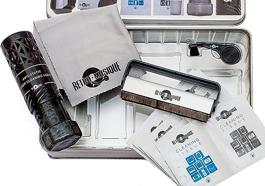 Kit de limpieza para discos de vinilo retro, todo lo necesario ...