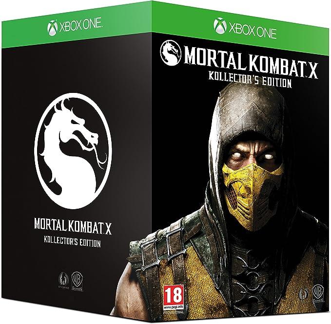 Mortal Kombat X [At Pegi] - Kollectors Edition [Importación ...