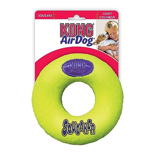 16 opinioni per Kong Airdog Squeaker Donut Large
