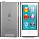 mumbi TPU Silikon Hülle für iPod Nano 7G Schutzhülle (7. Generation) transparent schwarz
