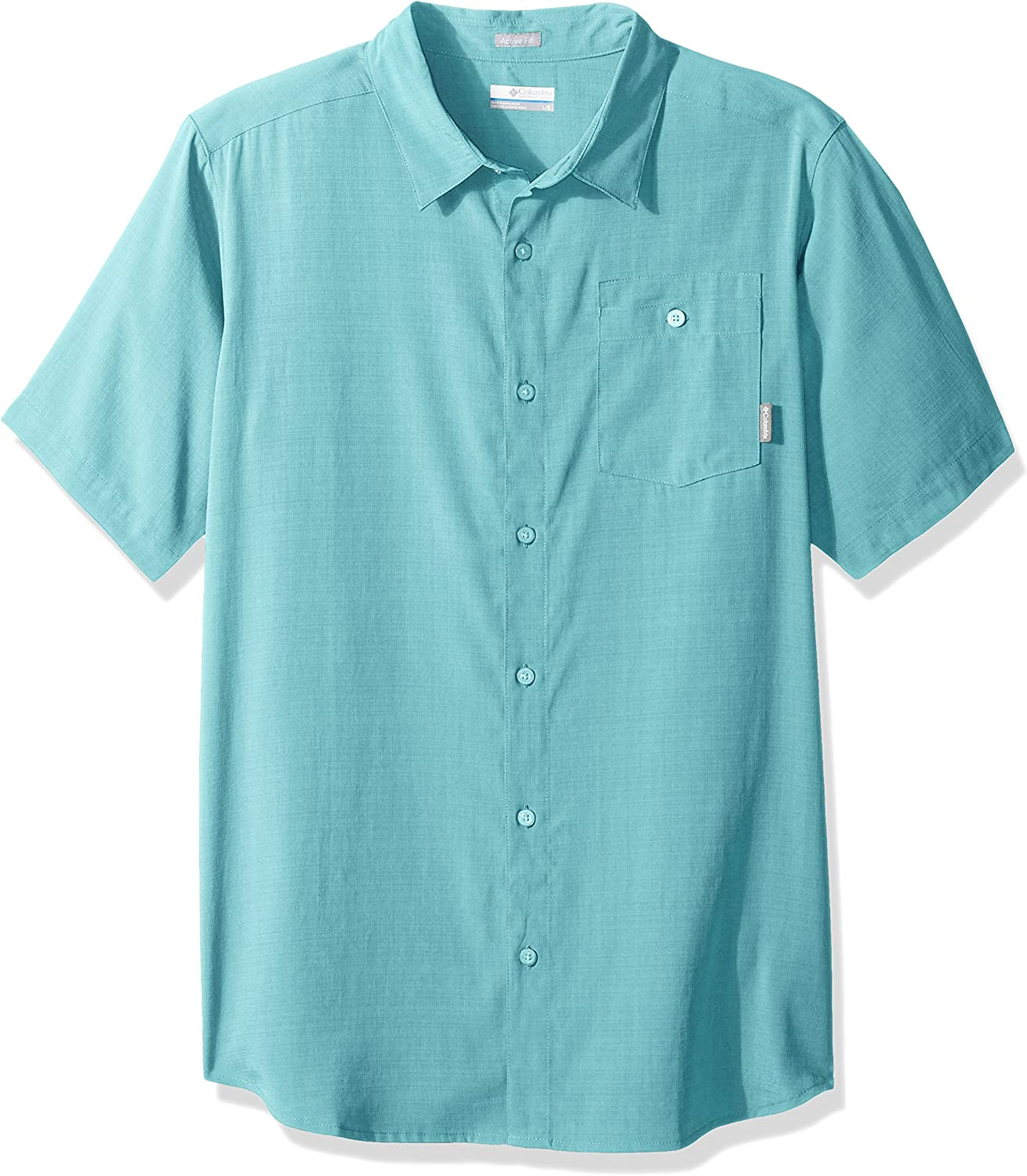 Columbia Mens Mossy Trail Short Sleeve Shirt