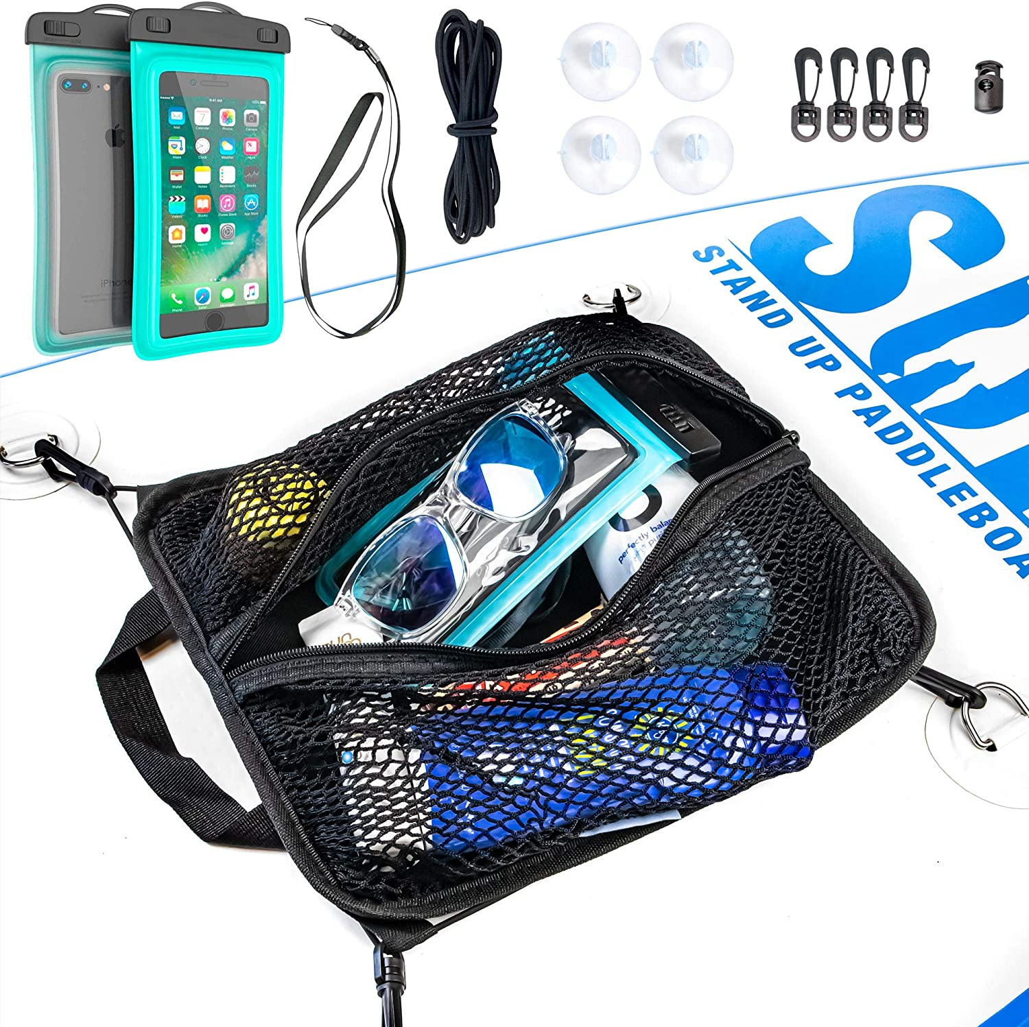 SUP-Now Paddleboard Deck Bag with Waterproof Phone Case