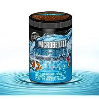 MICROBE-LIFT Phos-Out 4 Granulat - (Qualitäts-Phosphatentferner für jedes Meerwasser und Süßwasser Aquarium, auf Eisenhydroxid-Basis, entfernt schnell, sicher und dauerhaft Phosphat, Silikat, Sulfid sowie Gelbstoffe aus dem Wasser, verbessert das Korallenwachstum, für Tiere unbedenklich, Wasseraufbereiter, ausreichend für bis zu 4.000 Liter) verschieden Größen