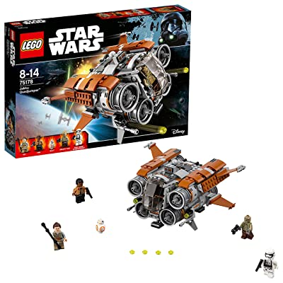 Lego Star Wars Jakku Quadjumper: Toys & Games