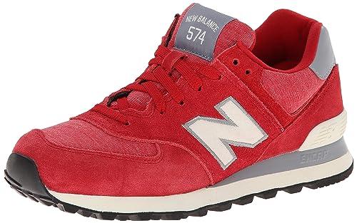 New Rosso Borse it Scarpe Wl574 Balance Amazon E 8n8rP 5195755282d