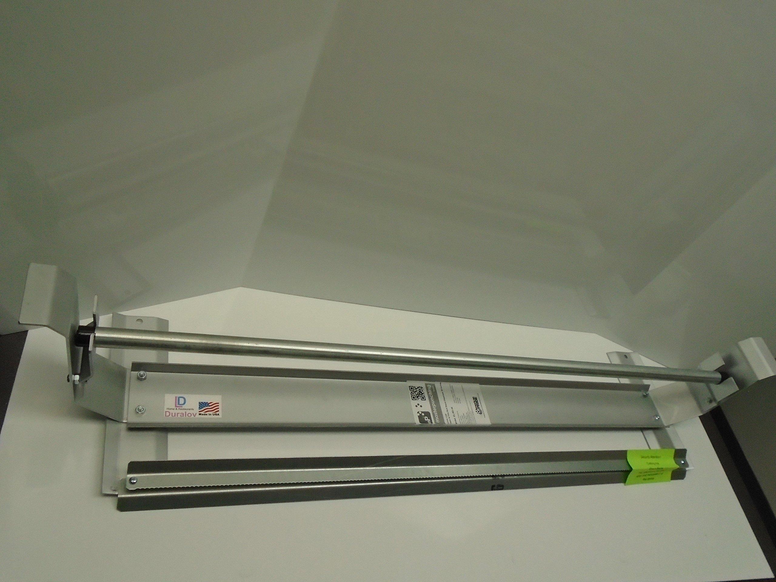 Paper Cutter Roll Dispenser Econoline 60 inches table mount Kraft paper Duralov by Duralov (Image #6)