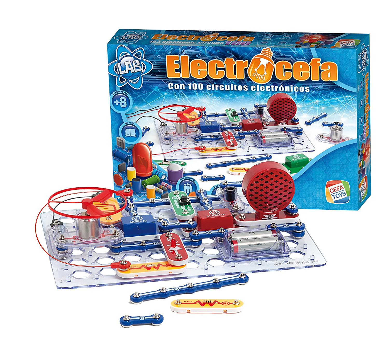 Cefa Toys – Set di Elettronica Electrocefa 100 Miscelanea