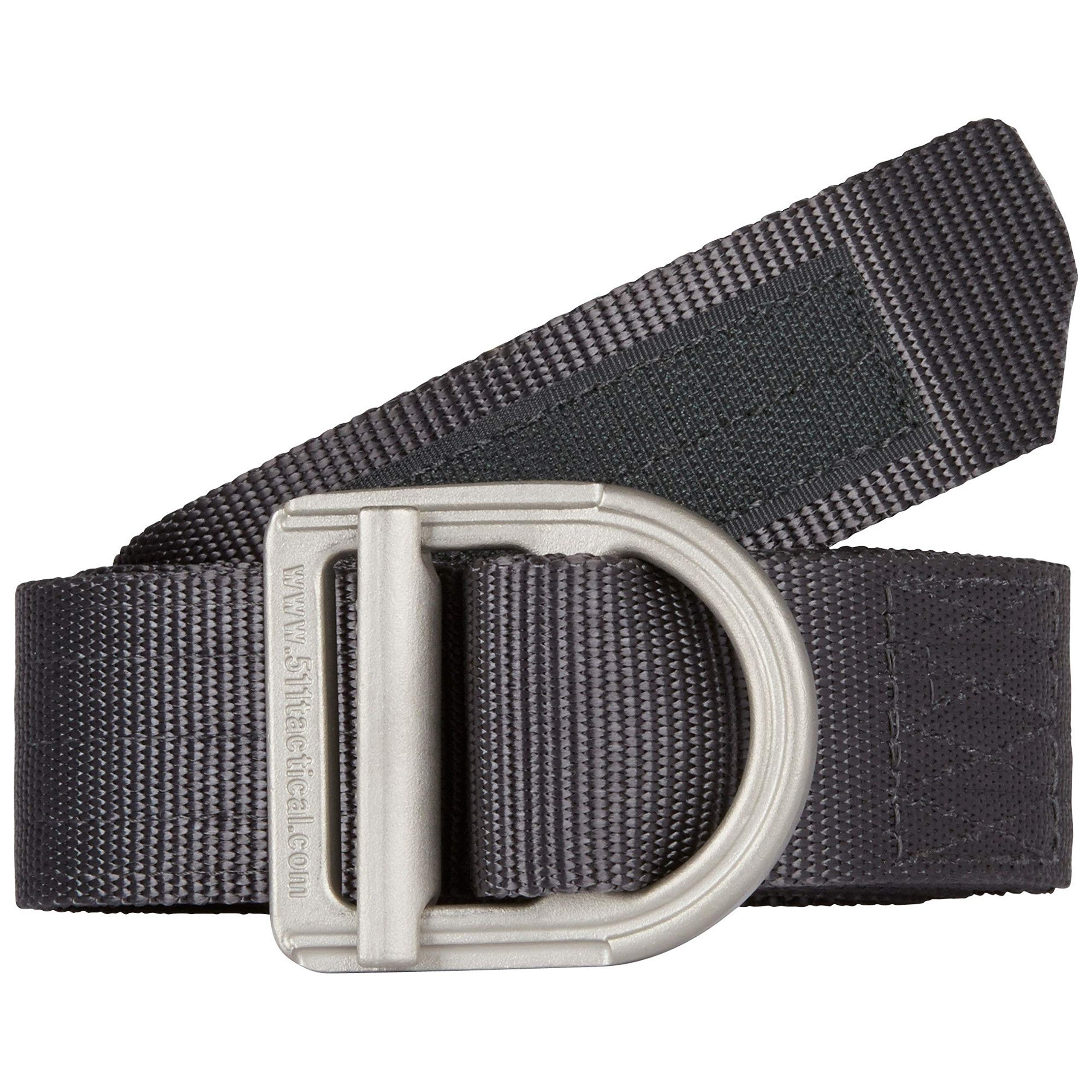 5.11  Trainer 1.5'' Tactical Belt, Heavy Duty for Military and Law Enforcement, Style 59409, Charcoal (018), XL by 5.11