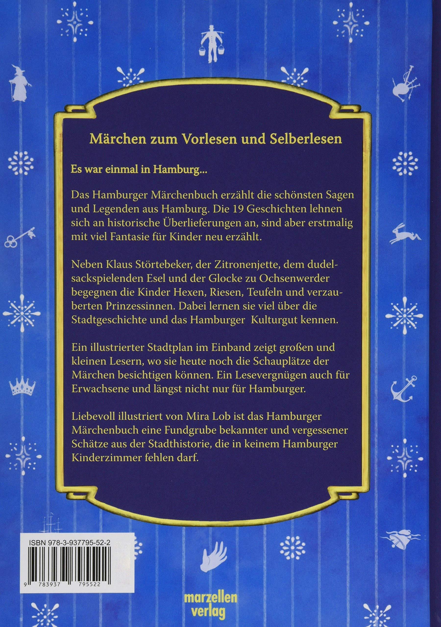 Das Hamburger Märchenbuch  Moritz, Silke, Lob, Mira Amazon.de ...