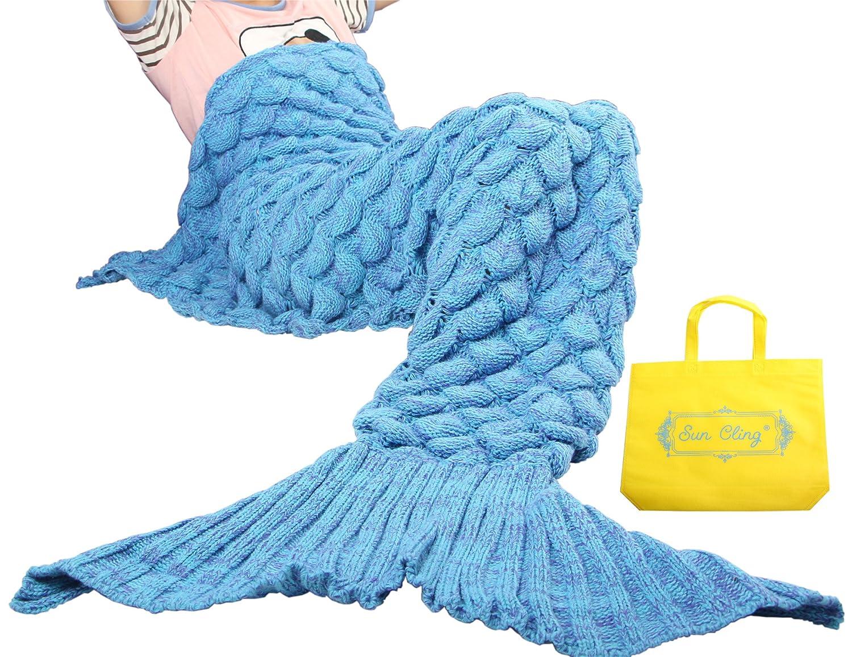 Knitted Mermaid Tail Blanket Pattern Free Custom Decorating