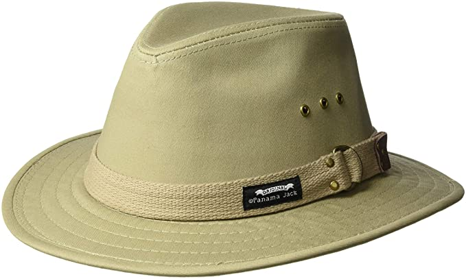 9ca631a4937 Panama Jack Men s Canvas Safari Hat