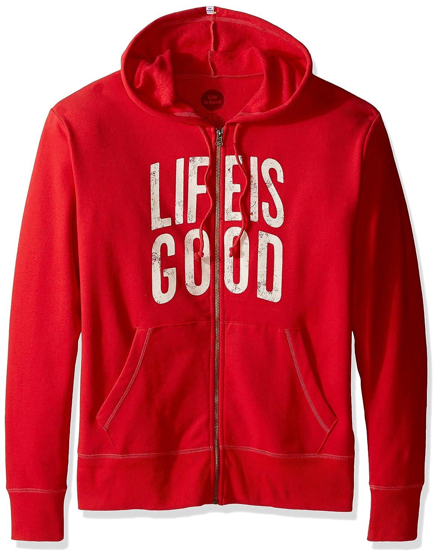 Life Is Good Sahne Zip Hoodie, Simply ROT