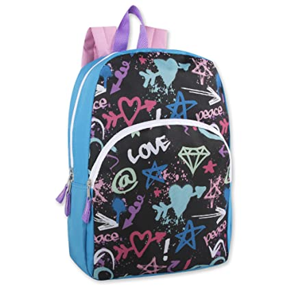 950b748cf9 Trail maker Character Backpack (15 quot ) with Fun Fashionable Design for  Boys   Girls
