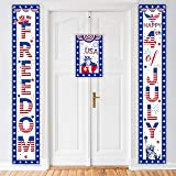Red//White//Blue 15 x 6 Beistle 53303 2 Piece Patriotic Fabric Column Buntings
