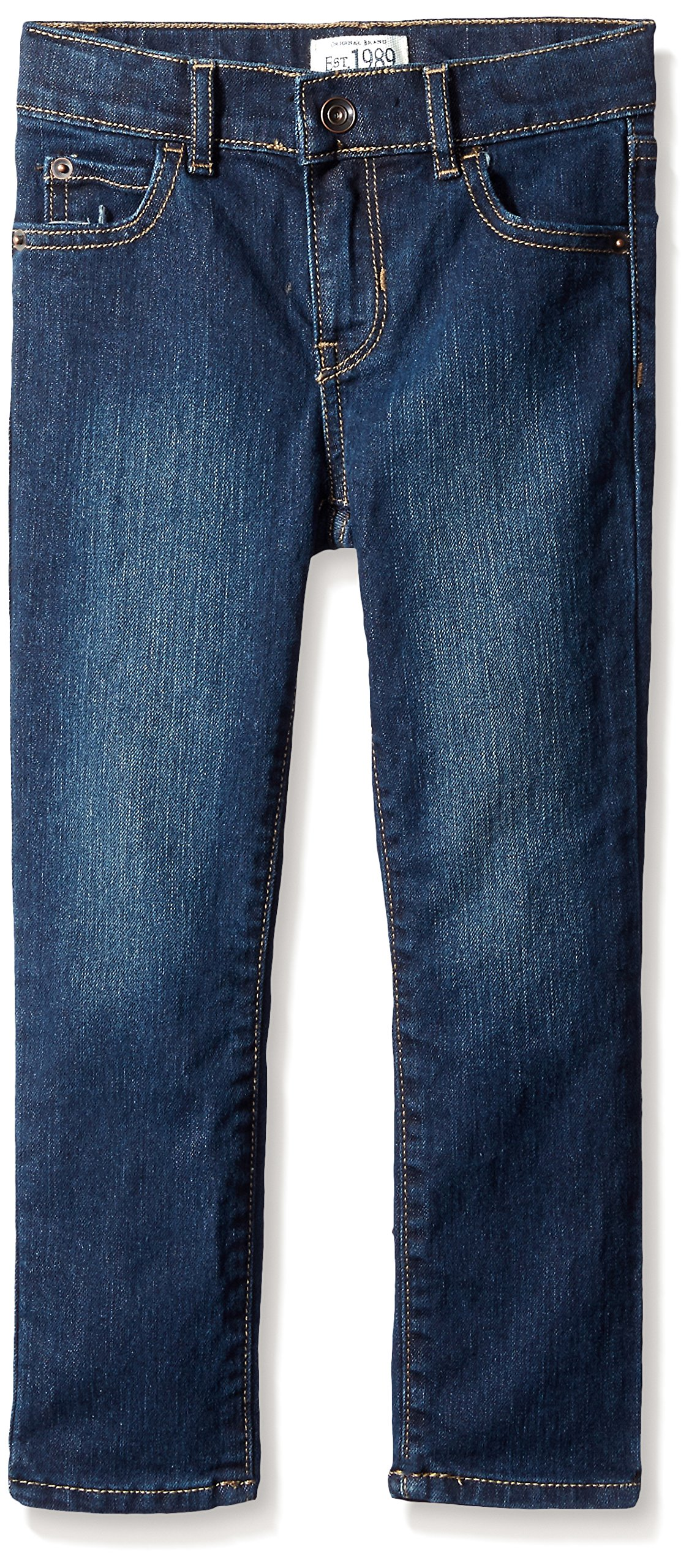 The Children's Place Big Boys Super Skinny Jeans, Dark Wear, 8 by The Children's Place (Image #1)