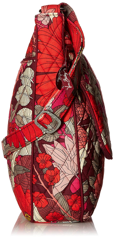 Vera Bradley Women s Double Zip Mailbag Bohemian Blooms Cross Body   Handbags  Amazon.com 541419e49f947