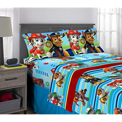 Nickelodeon PAW Patrol Puppy Hero Sheet Set: Home & Kitchen