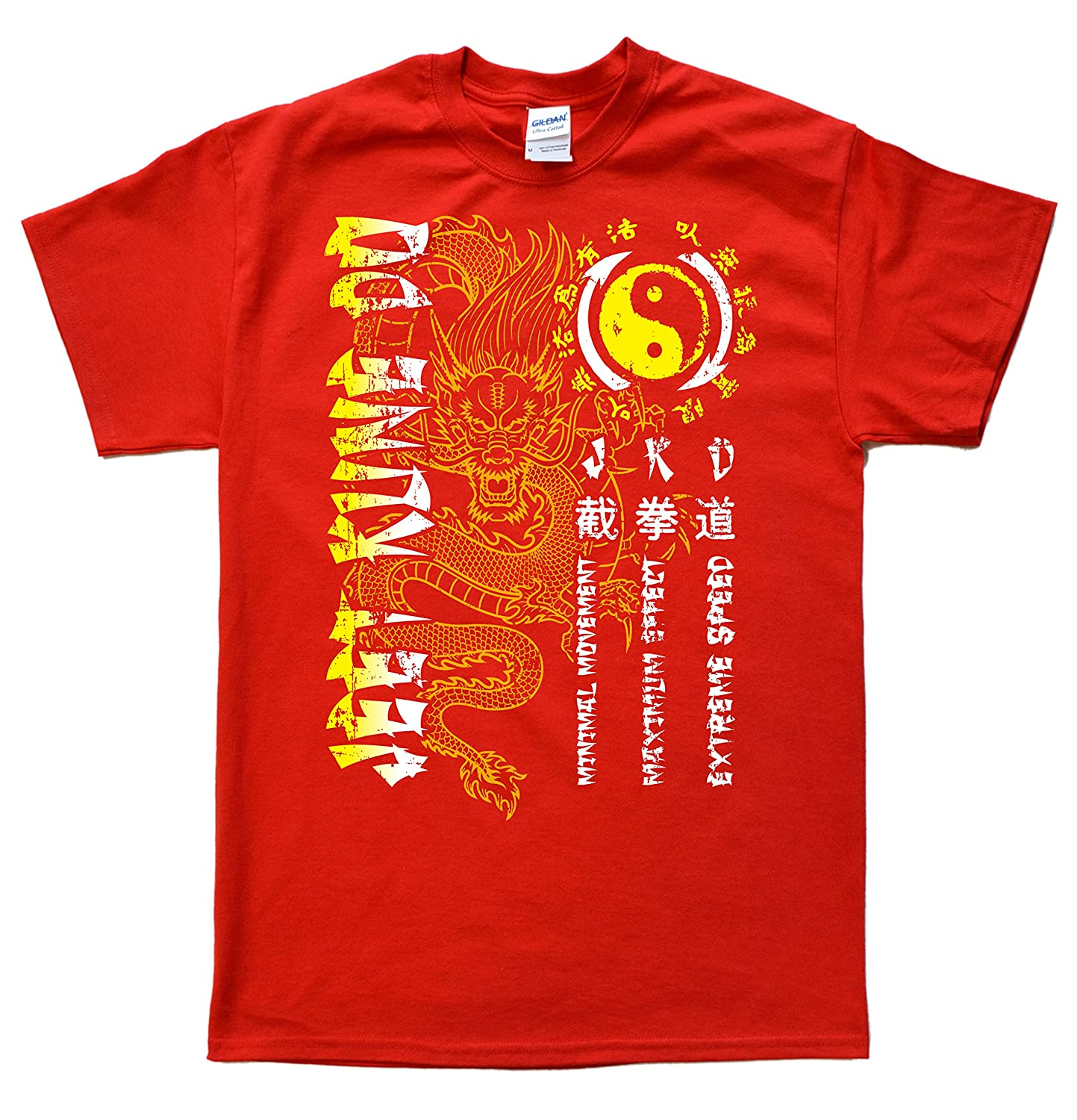 Stooble Men's Jeet Kune Do Dragon T-Shirt Stooble - 1ClickPrint