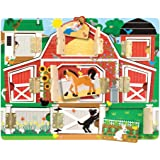 Melissa & Doug - 14592 - Magnetic Farm Hide & Seek Board