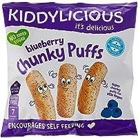 Kiddylicious Chunky Puff, Chunky Blueberry, 12 g