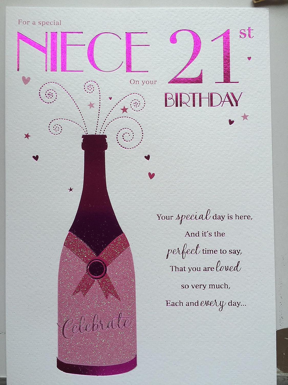 21st Birthday Card Congratulations On Your 21st Birthday – Birthday Card 21