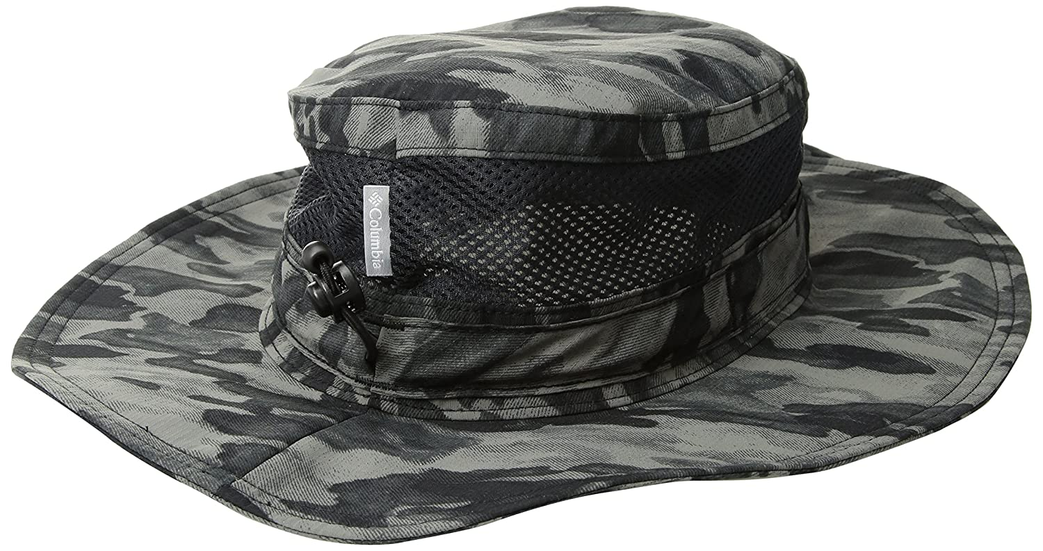 Amazon.com   Columbia Bora Bora Print Booney Hat 42fc5fe018cf