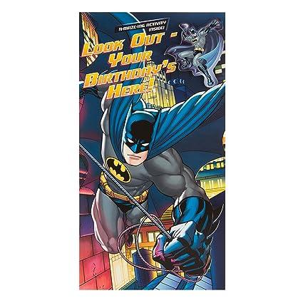 DC Comics Batman Hallmark Tarjeta de cumpleaños