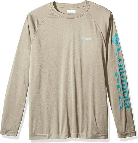 Columbia Terminal Tackle Heather Camisa de manga larga para hombre: Amazon.es: Deportes y aire libre