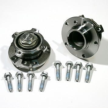 2 X Radnabe 2 X Radlagersatz Schrauben Für Vorne Für Die Vorderachse Auto