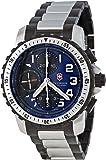 Victorinox Swiss Army - 241194 - Alpnach - Montre Homme - Automatique - Cadran Bleu - Bracelet Acier Inoxydable Multicolore