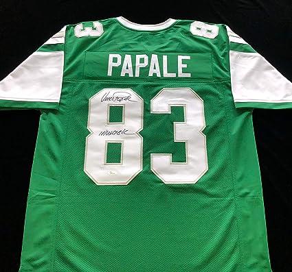 hot sale online c8413 ff861 Vince Papale Philadelphia Eagles Signed Autograph Jersey JSA COA