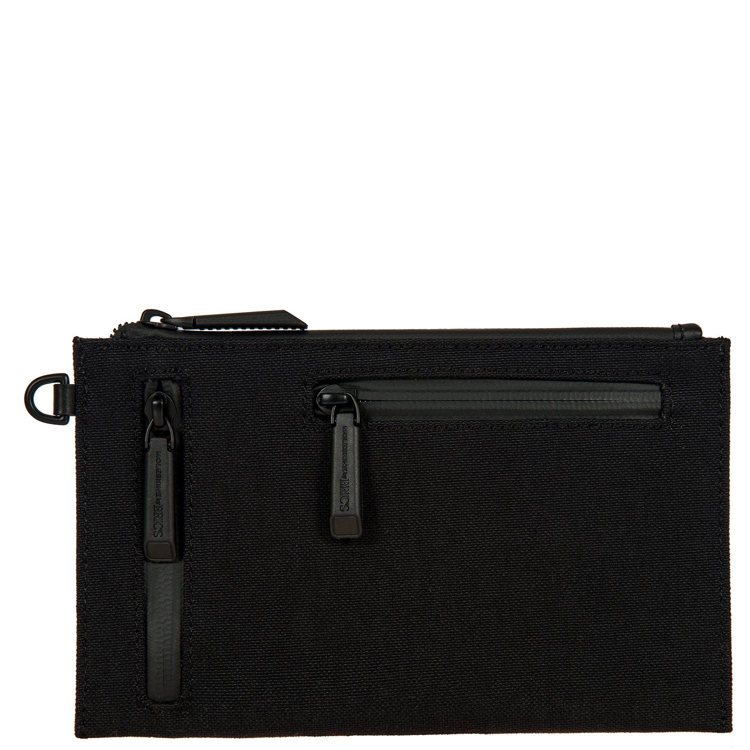 Bric's Men's Moleskine RFID Pouch, Black