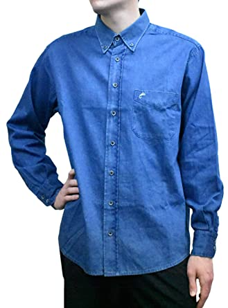 bbae29bac98e8a Lee Valley - Men's Genuine Irish Rookie Denim Shirt - Indigo (Large ...
