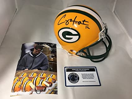 c0d6fb38c Image Unavailable. Image not available for. Color  Clay Matthews  autographed signed Green Bay Packers ...