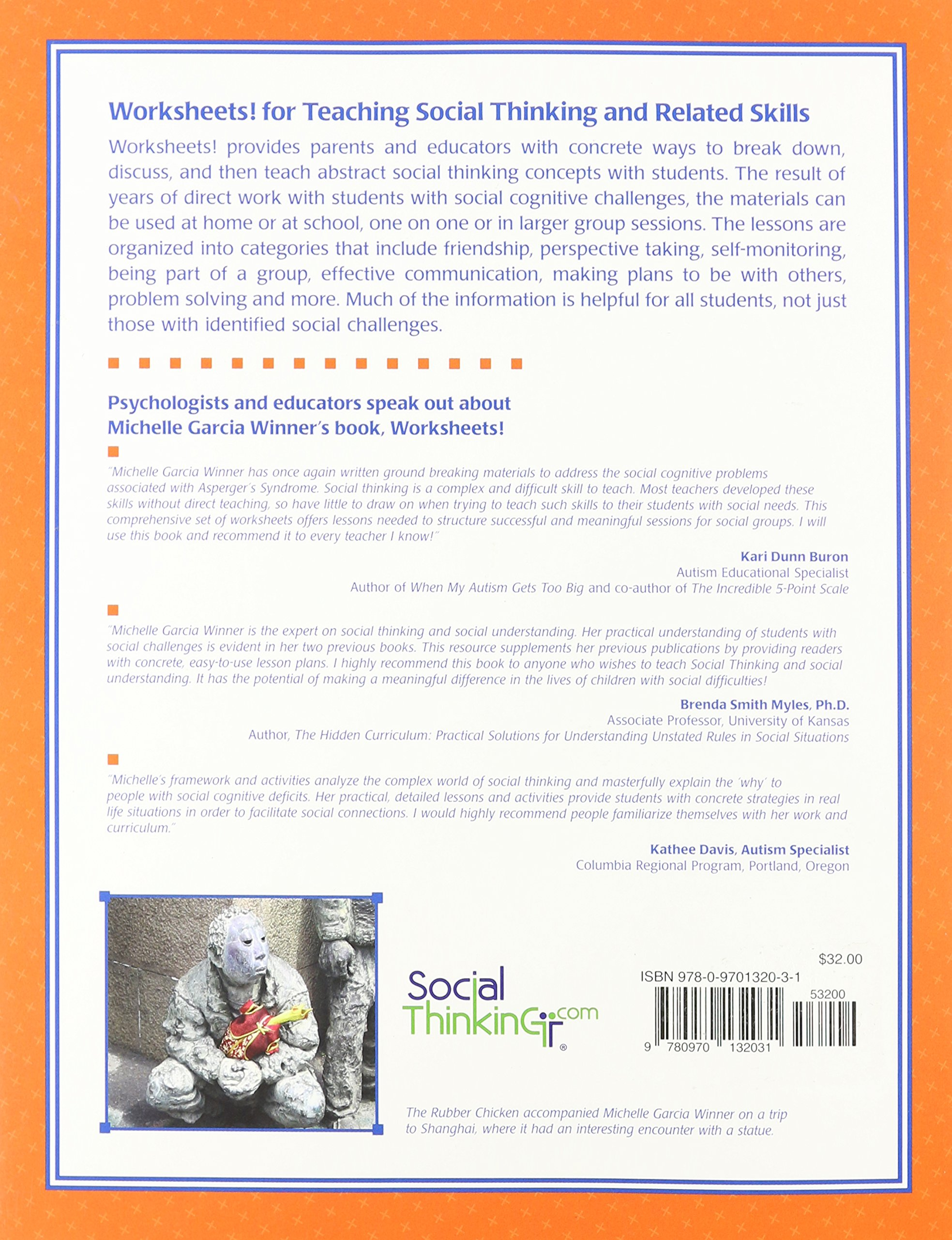 Worksheets For Teaching Social Thinking and Related Skills – Social Thinking Worksheets