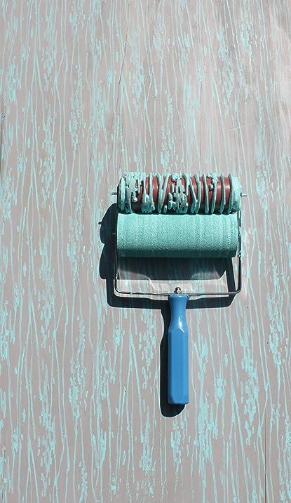Wood Grain Patterned Paint Roller - - Amazon.com