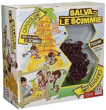 Mattel Games Monos Locos Juego De Mesa Infantil Mattel 52563