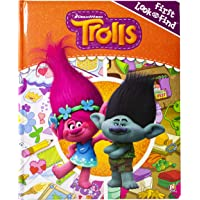 DreamWorks Trolls - First Look and Find Activity Book - PI Kids