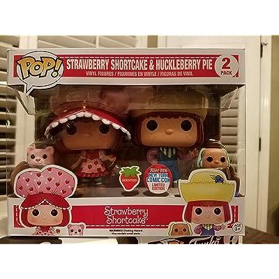 Funko Set 2Figures Pop. Strawberry Shortcake & Huckleberry Pie Exclusive: Toys & Games