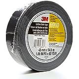 3M Cloth Gaffers Tape 6910 Black, 48 mm x 54.8 m 12.0 mil (Pack of 1)