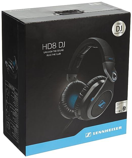 2 opinioni per Sennheiser HD 8 DJ Cuffia Chiusa Circumaurale Progettate per i Professionisti
