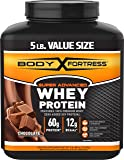Body Fortress Super Advanced Whey Protein, Chocolate, 5 Pounds
