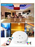 XCSOURCE DC 12V 24V Magic UFO LED WIFI Controller for RGB RGBW RGBWW LED Strip Light iOS or Android system Smartphone Control LED Ribbon Lamp Music Modes DIY Modes LD382